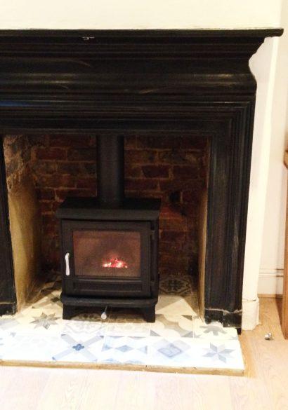wood burning stove Godalming