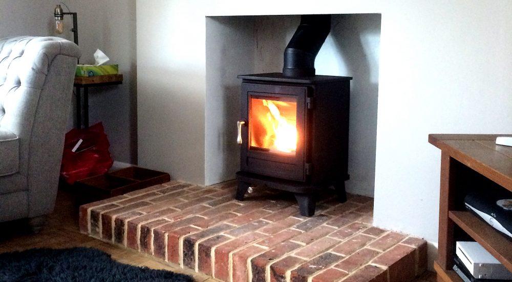 wood burning stove in Farnborough