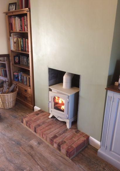 wood burning stove installation Aldershot