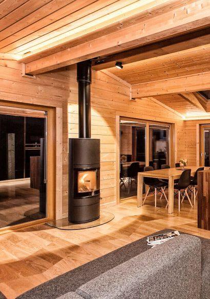 Scan wood burning stove Hampshire