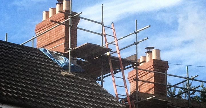 Chimney rebuild in Aldershot