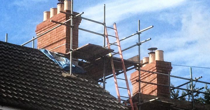Chimney rebuild in Aldershot