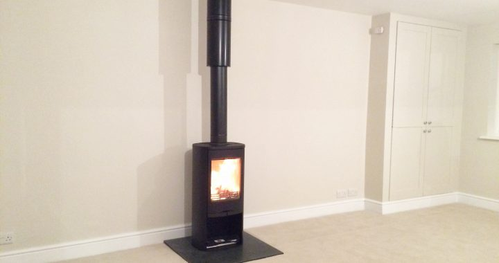 Contura 810 wood burning stove Farnham Surrey