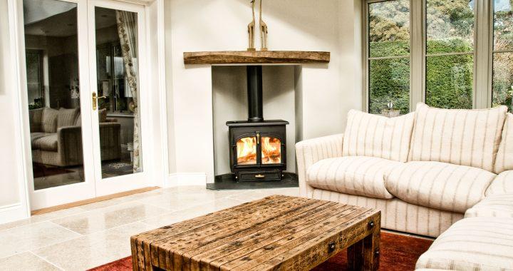 wood burning stove installation west meon