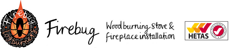 Fire Bug Wood Burning Installation Logo