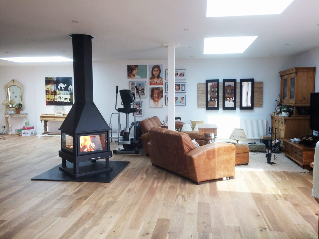 Bronpi HUELVA four sided log burner Hampshire