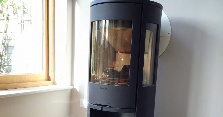 Contura wood burning stove Godalming