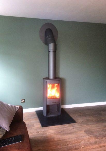 Contura wood burning stove, Frimley Green