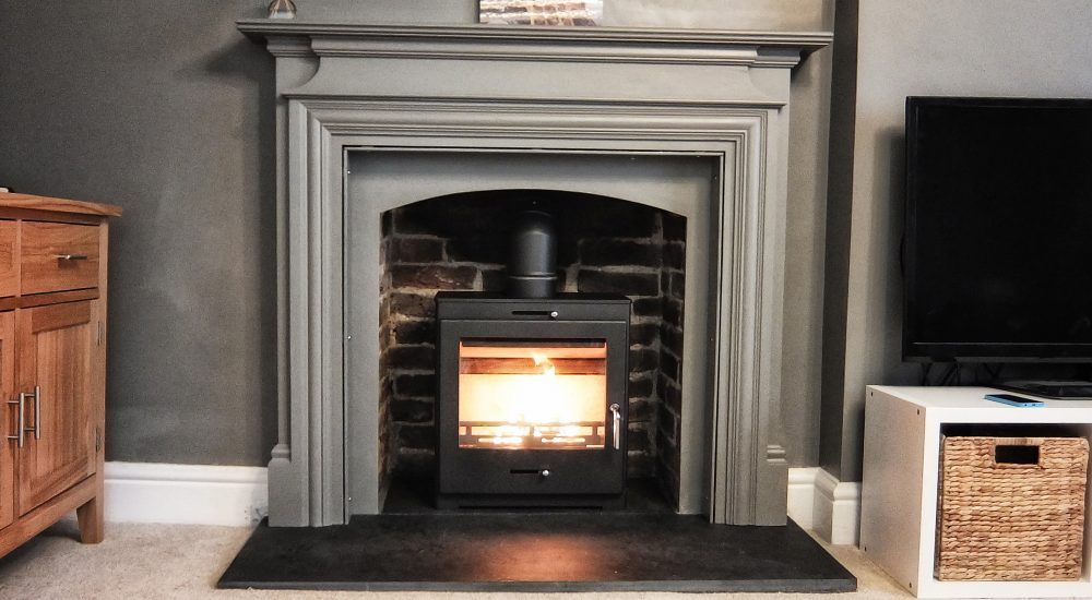 wood burning stove installation in guildford