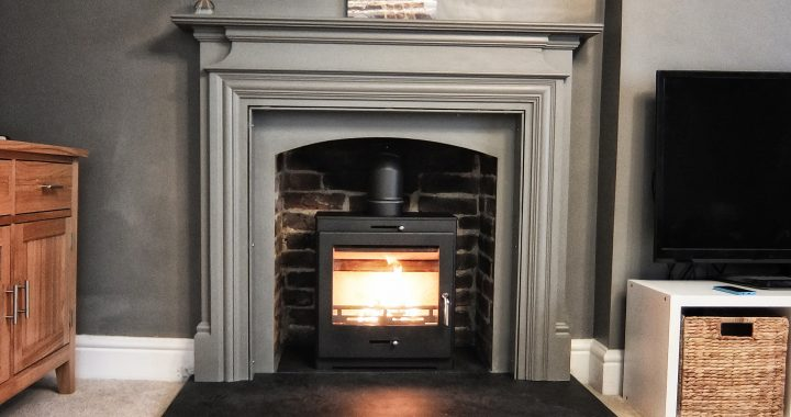 reclaimed fireplace surround Alton