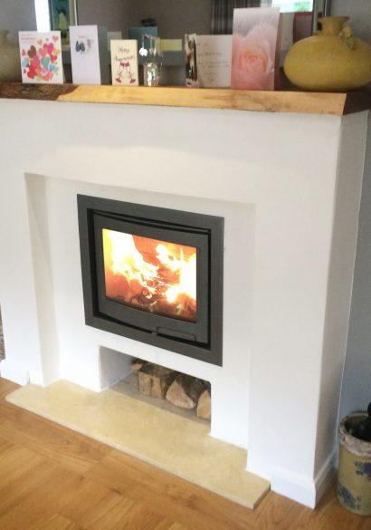 inset wood burning stove bordon