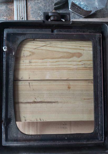 Log burner servicing