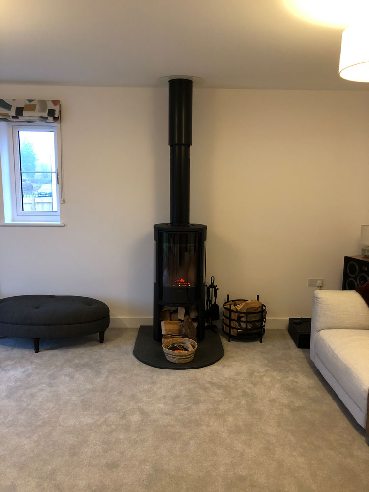 free standing wood burner Hampshire