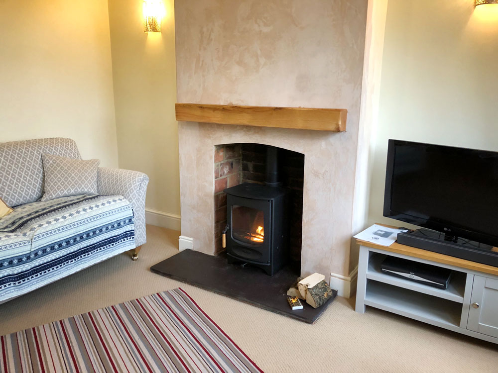 Charnwood log burner ropley