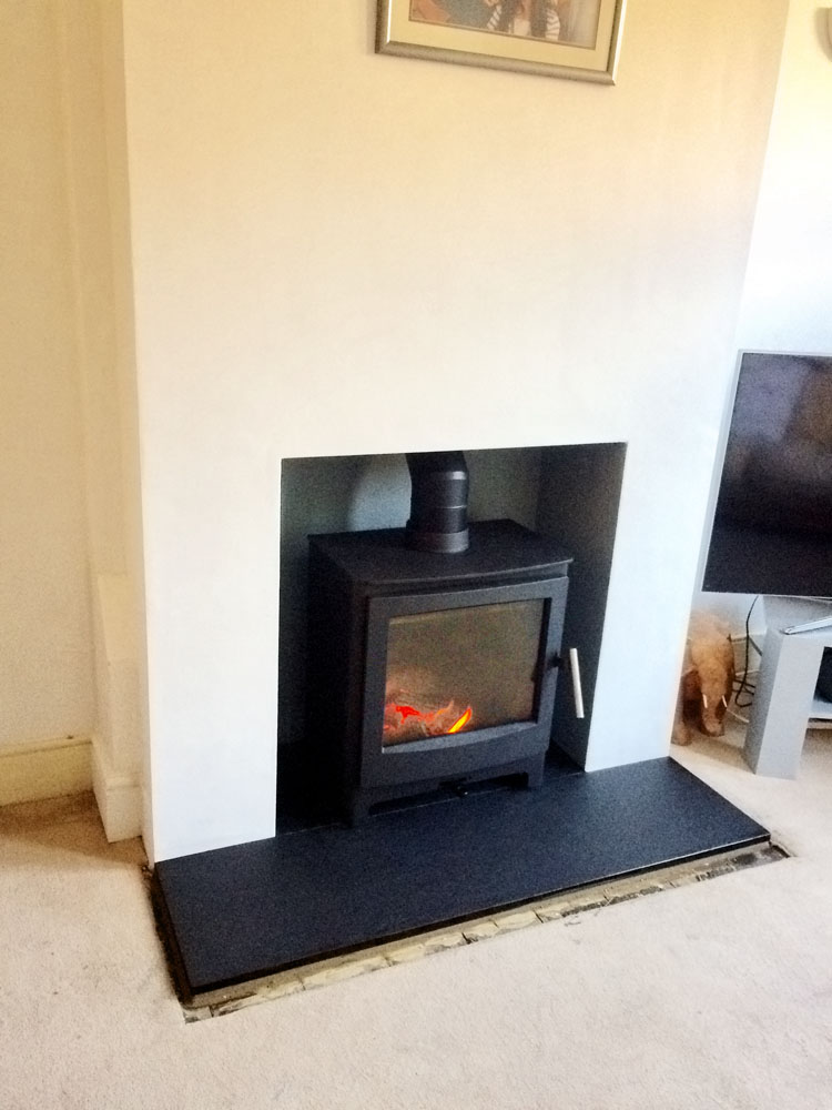 log burner alton
