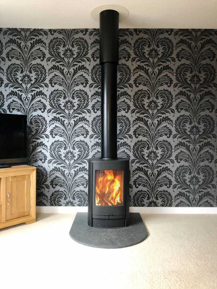 Free Standing Wood Burner Alton Hampshire Log Burner Installation Hampshire